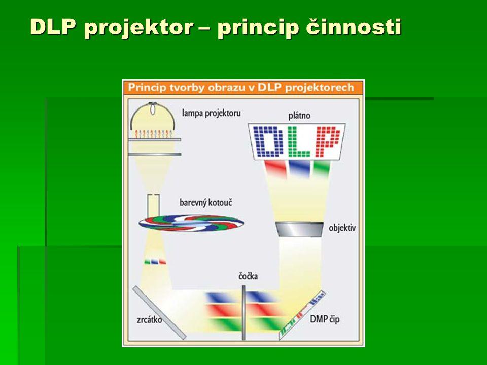DLP projektor – princip činnosti