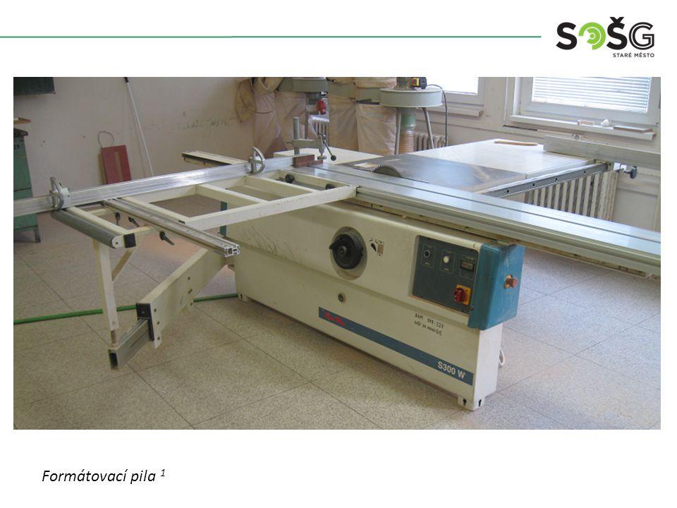 POUŽITÍ : Stroj je určen pro formátování surových i dokončených konstrukčních desek.
