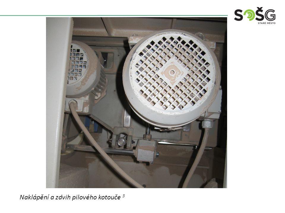 Vícekotoučová rozřezávací pila PWR 201 TOS Svitavy - detail Pilový agregát - detail 4