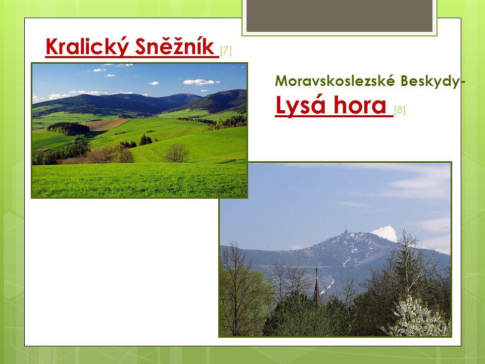Odra - jejími největšími přítoky jsou řeky Ostravice, Opava a Olše.