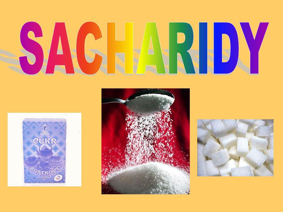 Vysvětlení pojmu Sacharidy neboli cukry Sacharidy neboli cukry jsou organické látky složené z uhlíku, vodíku a kyslíku.
