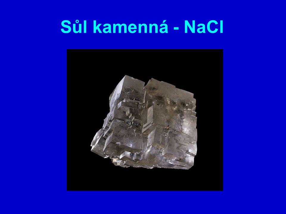Sůl kamenná - NaCl