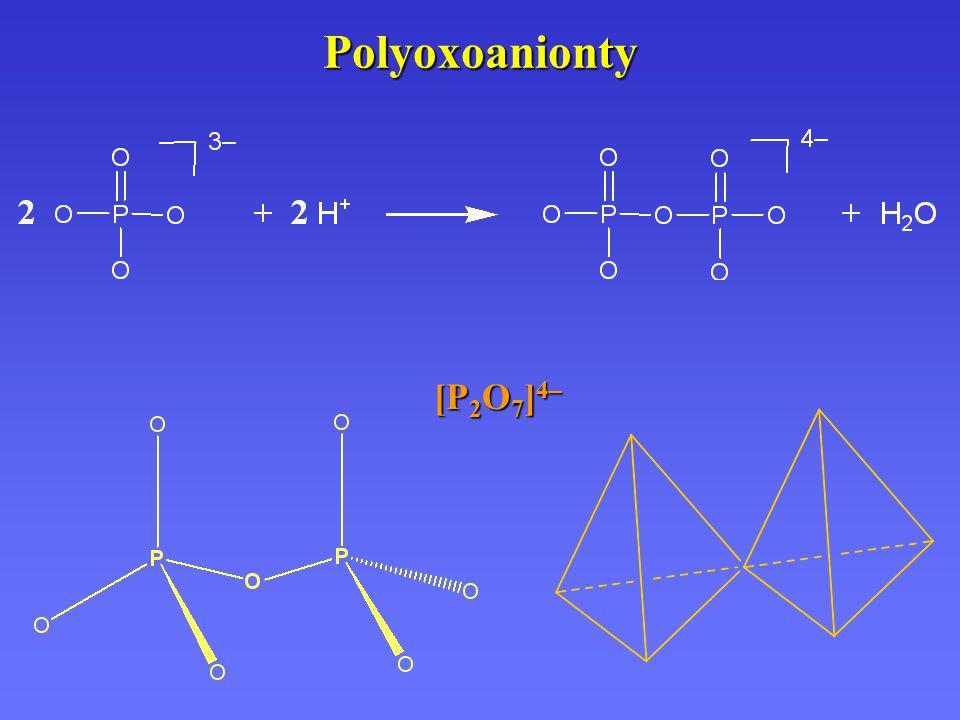 Polyoxoanionty [P 2 O 7 ] 4–