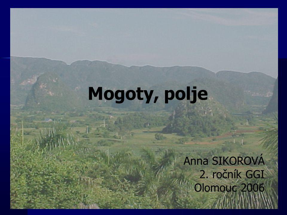 Mogoty, polje Anna SIKOROVÁ 2. ročník GGI Olomouc 2006