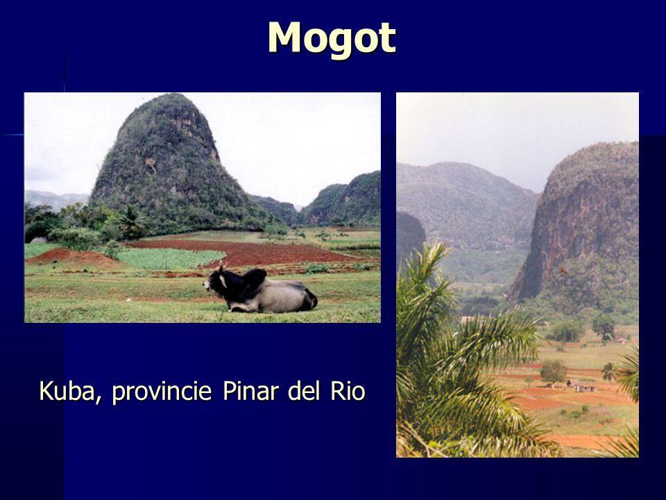 Mogot Kuba, provincie Pinar del Rio