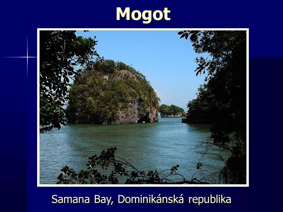 Mogot Samana Bay, Dominikánská republika