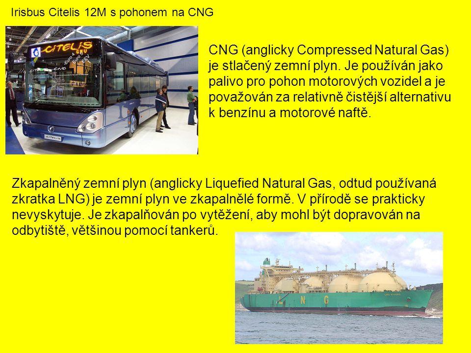 CNG (anglicky Compressed Natural Gas) je stlačený zemní plyn.