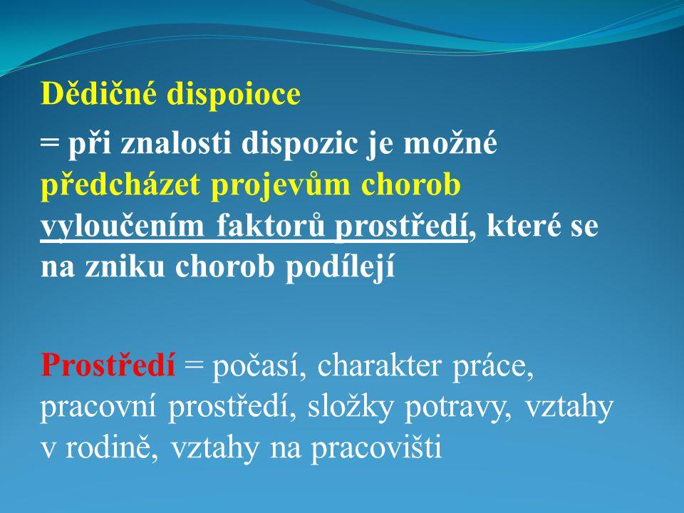 Příklad dědičnosti  Příkladem je navzájem kodominantní krevní skupiny A a B  v populace A má 42% obyvatel, B 12%, AB 8%  Krevní faktor Rh - =16% v ČR  Rh+ = 84% obyvatelstva v ČR