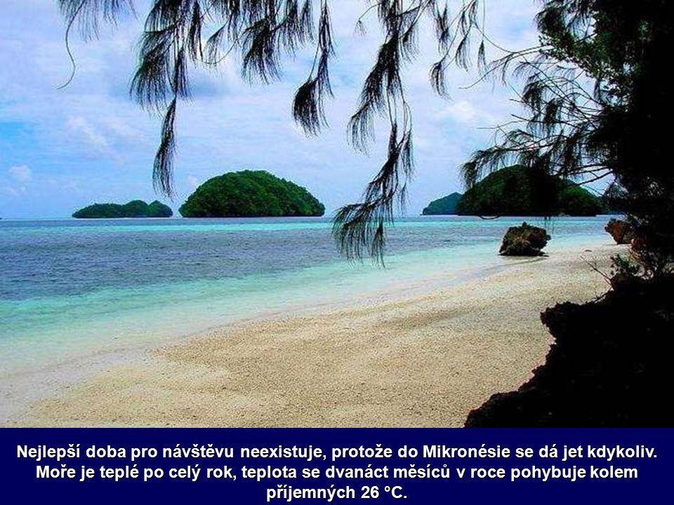 Mikronésie je krásné souostroví s dlouhými plážemi, zelenými palmami a vždy milými lidmi. Ostrovní ráj leží mimo hlavní turistické trasy, takže cizinc