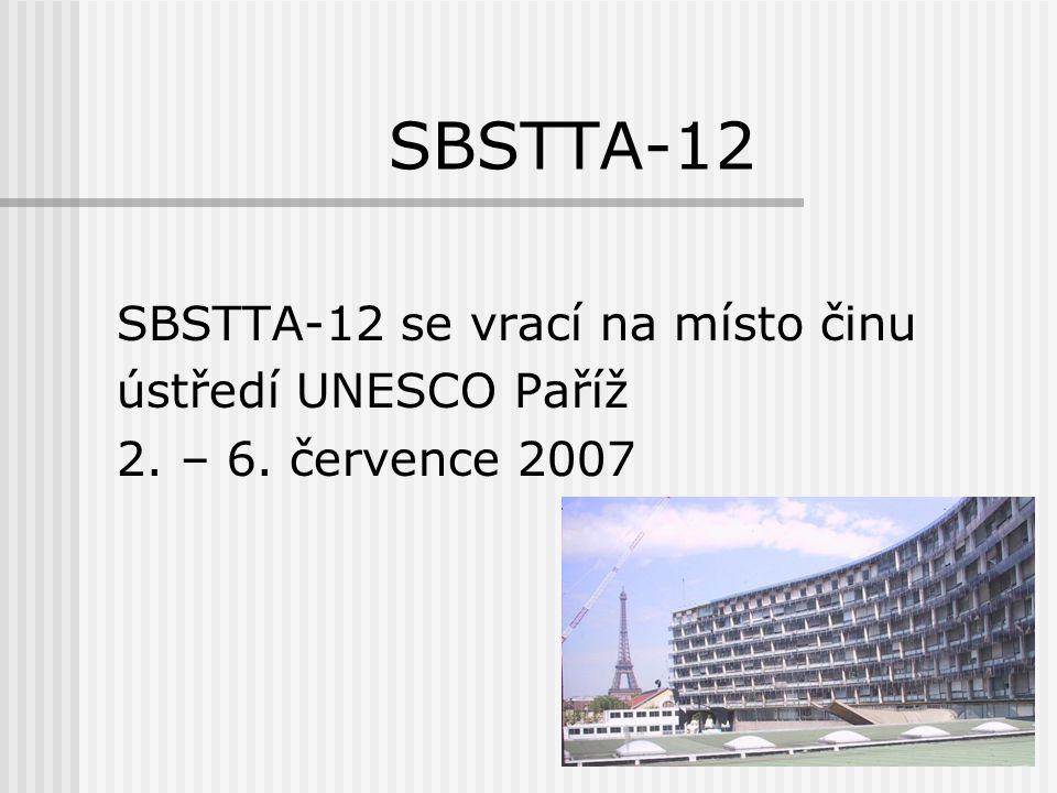 SBSTTA-12 Hlavní témata (1):  ekosystémový přístup  Světová strategie ochrany rostlin (GPCS)
