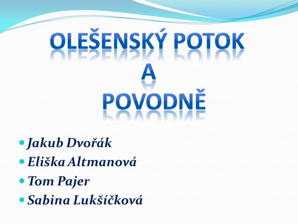 Jakub Dvořák Eliška Altmanová Tom Pajer Sabina Lukšíčková