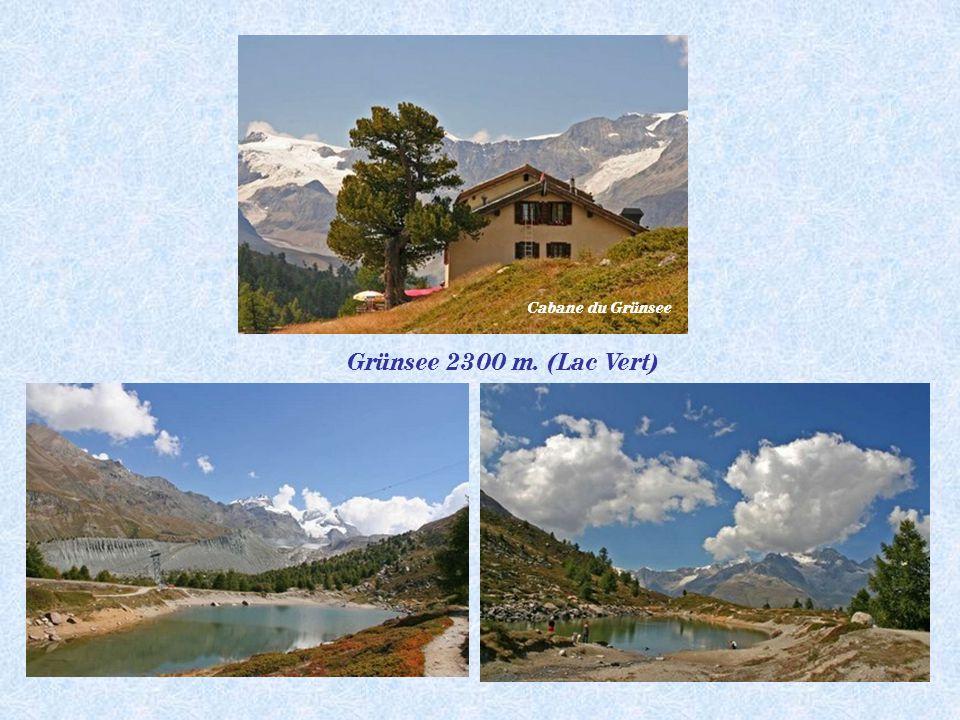 Pt Cervin 3883 m.Breithorn 4164 m Chata de la Gandegg