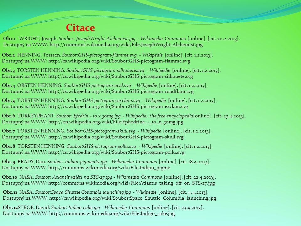 Citace Obr.4 ORSTEN HENNING. Soubor:GHS-pictogram-acid.svg - Wikipedie [online]. [cit. 1.2.2013]. Dostupný na WWW: http://cs.wikipedia.org/wiki/Soubor