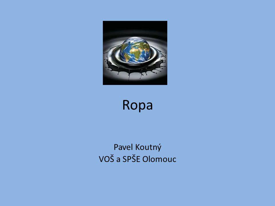 Ropa Pavel Koutný VOŠ a SPŠE Olomouc
