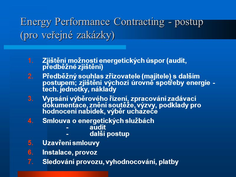 EPC: Z čeho profituje ESCO.