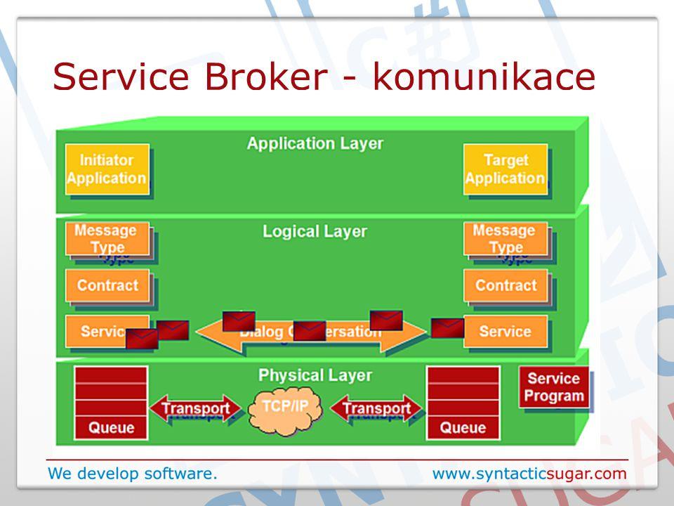 Service Broker - komunikace