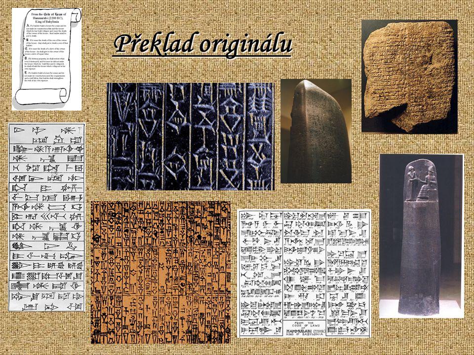 Hammurabi je pravítko, kdo je jak otec k jeho předmětům, kdo/který drží slova Marduk v úctě, kdo/který dosáhla dobytí pro Marduk nad severem a jihem, kdo/který raduje se srdce Marduk, jeho lord, kdo/který věnovalo výhody navždy a někdy na jeho předmětech, a má ustanovené pořadí v zemi.