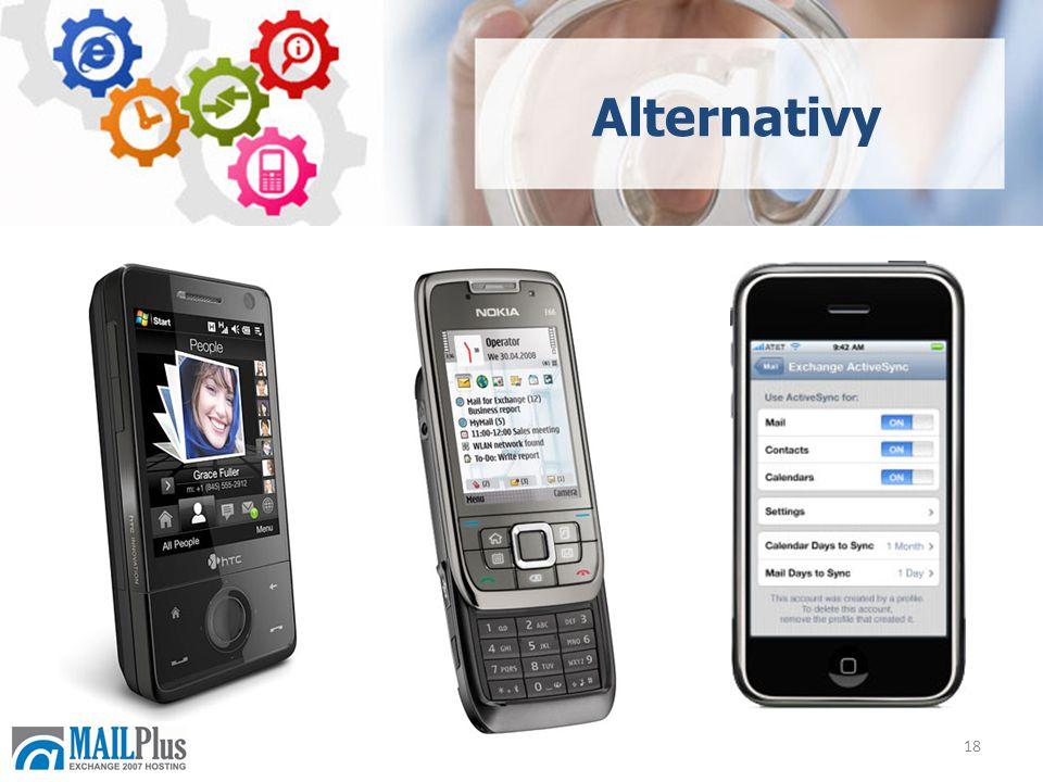 18 Alternativy