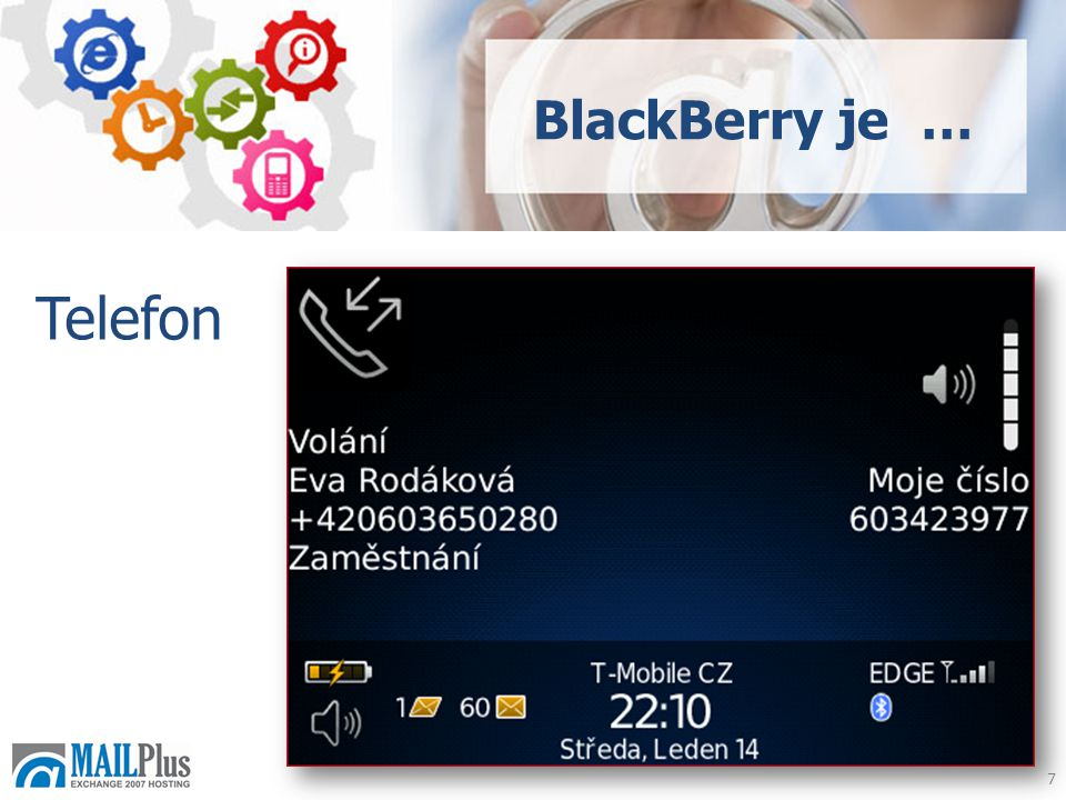 7 Telefon BlackBerry je …