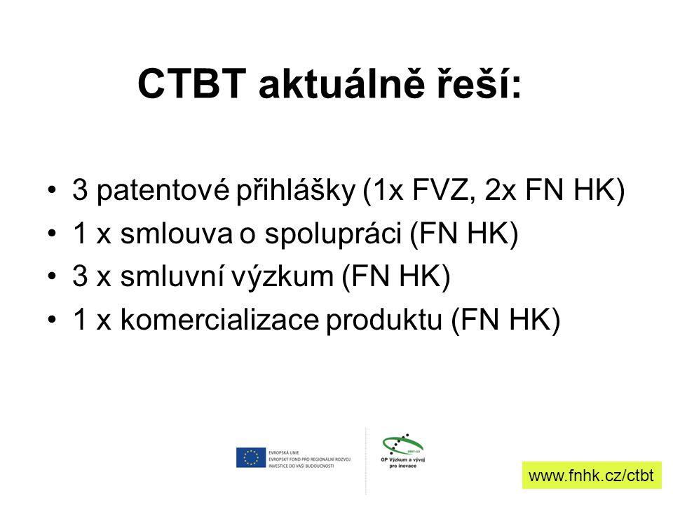 Cílová skupina Účastníci projektu: příjemce a partneři, jejich interní útvary, výzkumníci a výzkumné týmy Spolupracující subjekty a projekty –HIT klastr –Technologické centrum Hradec Králové –CZEPLINN –RECOOP –Ministerstvo školství, mládeže a tělovýchovy - projekt EF-TRANS –CEPIN –Externí poradenské společnosti - dodavatelé služeb, např.
