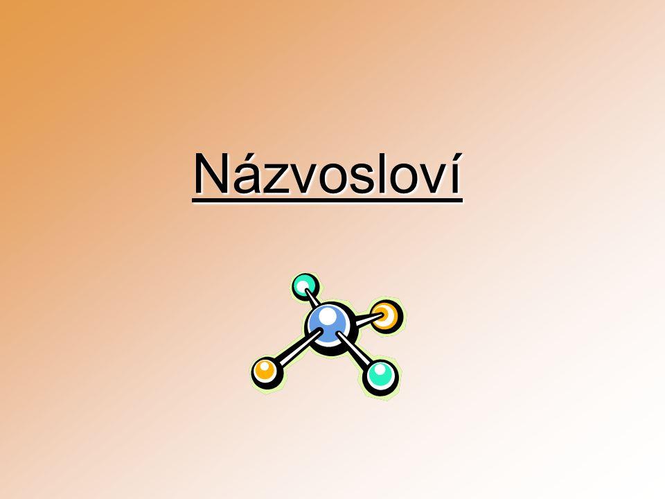 Oxidační číslo Náboj, který byl přítomen na atomu určitého prvku, kdyby elektrony každé vazby, která z něj vychází, byly přiděleny elektronegativnějšímu z obou vazebných partnerů je definováno počtem elektronů, které je nutno atomu prvku dodat/odebrat, aby vznikl formálně elektroneutrální atom