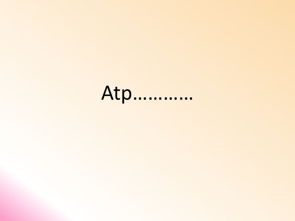 Atp…………