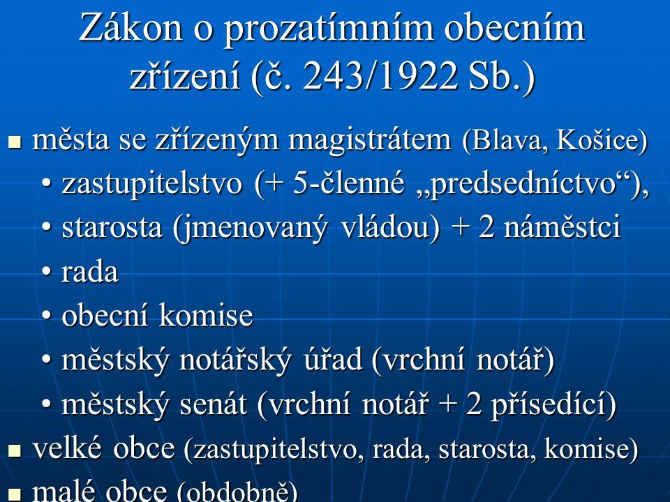 Zákon o prozatímním obecním zřízení (č.