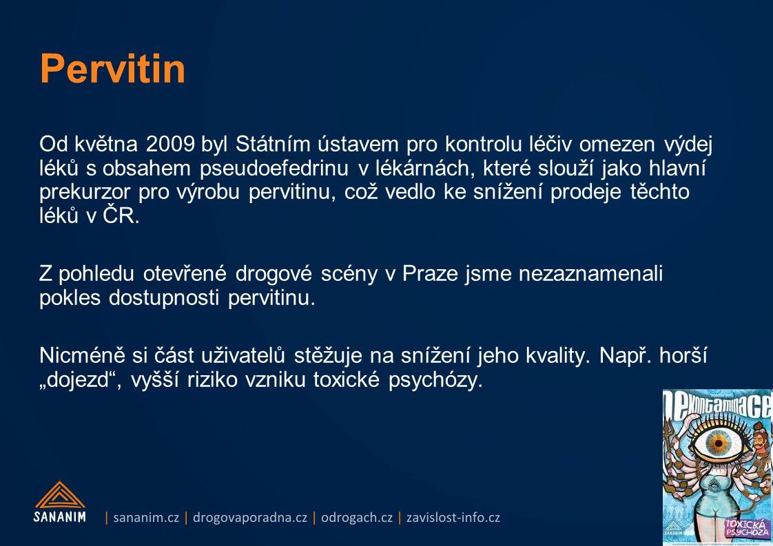 Od května 2009 byl Státním ústavem pro kontrolu léčiv omezen výdej léků s obsahem pseudoefedrinu v lékárnách, které slouží jako hlavní prekurzor pro v
