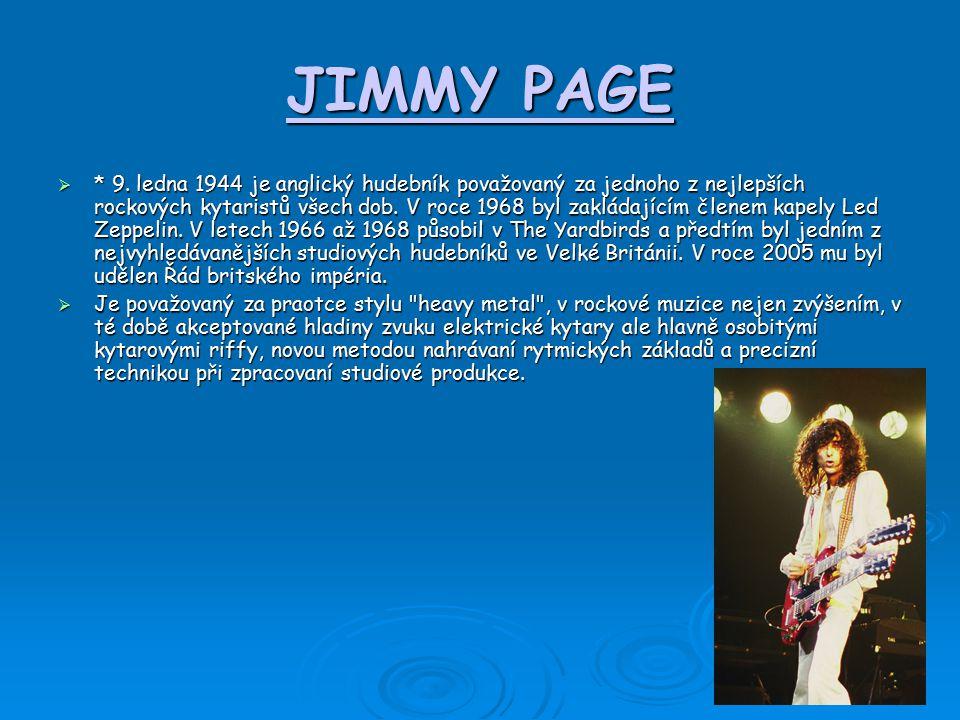 JIMMY PAGE  * 9.