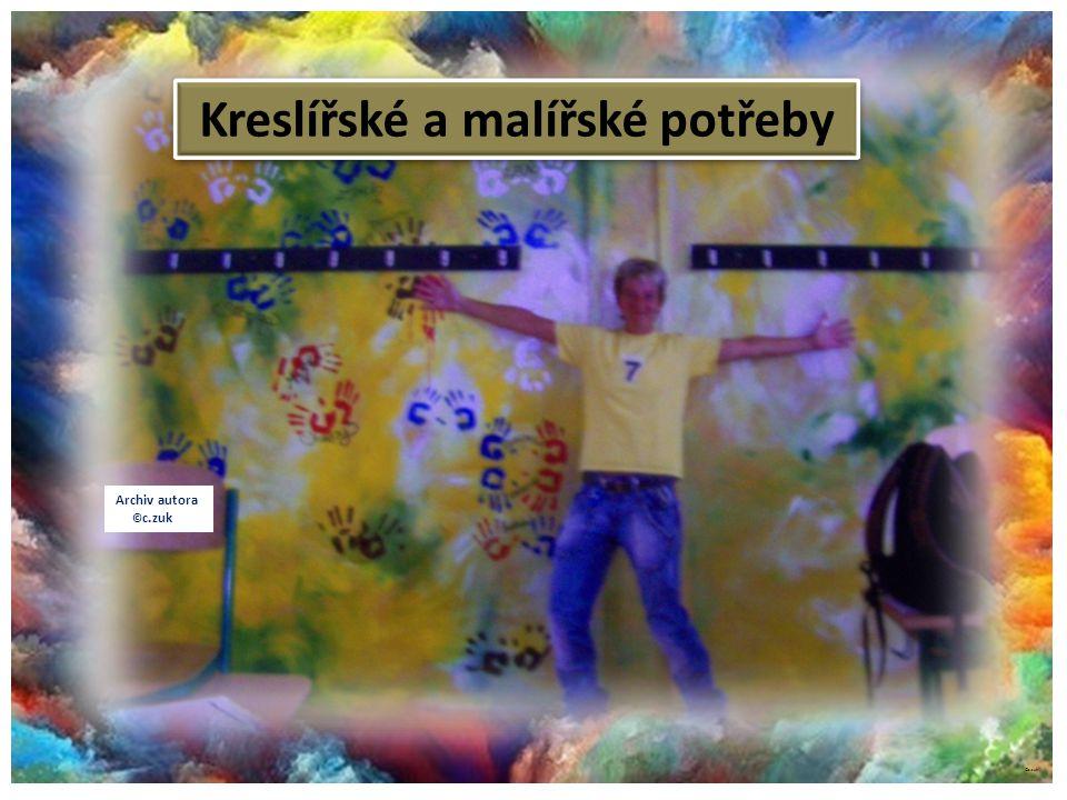 ©c.zuk Kreslířské a malířské potřeby Archiv autora © c.zuk