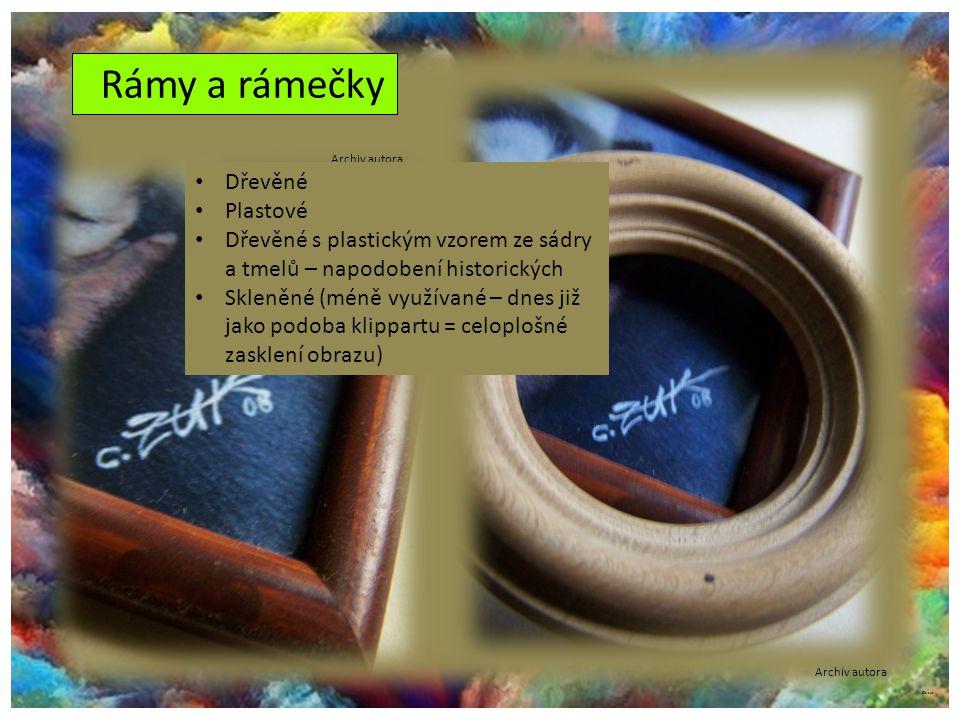©c.zuk Rámy a rámečky Archiv autora Dřevěné Plastové Dřevěné s plastickým vzorem ze sádry a tmelů – napodobení historických Skleněné (méně využívané –