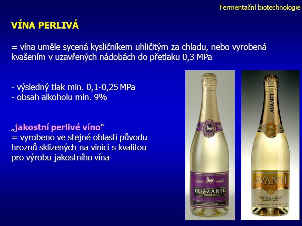 Fermentační biotechnologie CAVA = označení šumivých vín vyráběných v Katalánsku - Zásadně vyráběny tradiční šampaňskou metodou ( od r. 1872) - místní