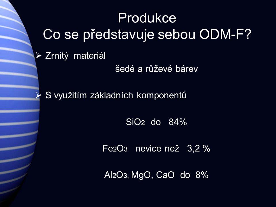 Produkce Co se představuje sebou ODM-F.