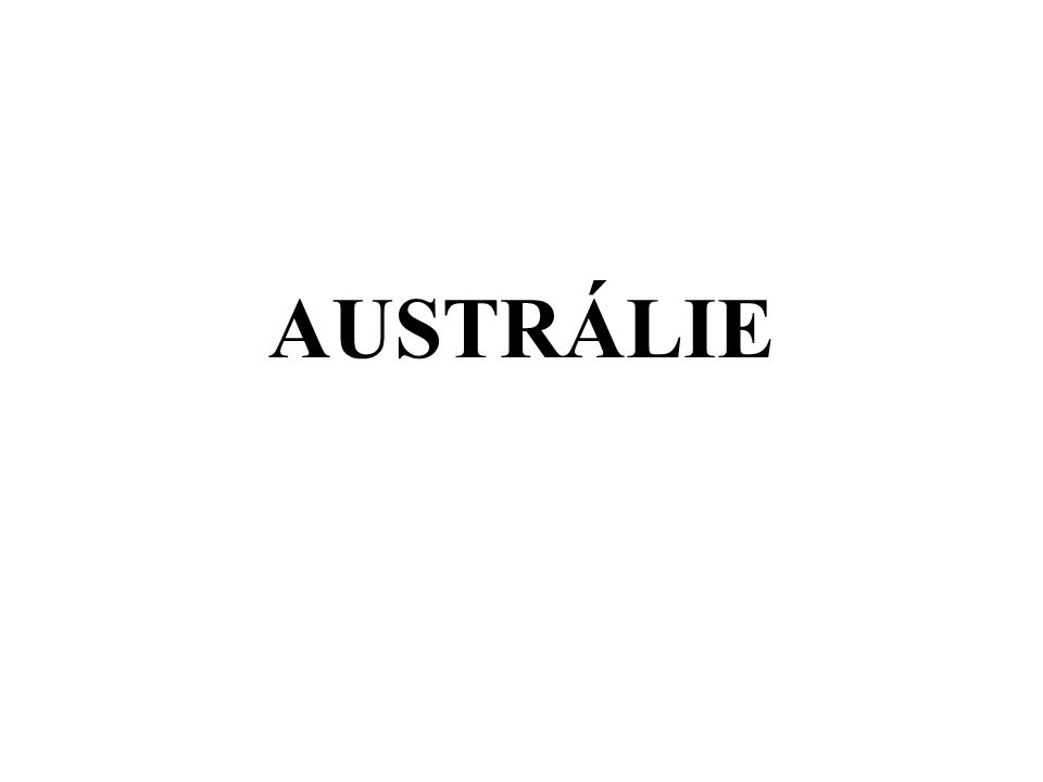 = Jižní země nejmenší a nejméně zalidněný kontinent