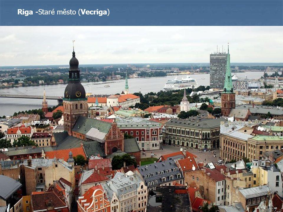 Riga -Staré město (Vecriga)