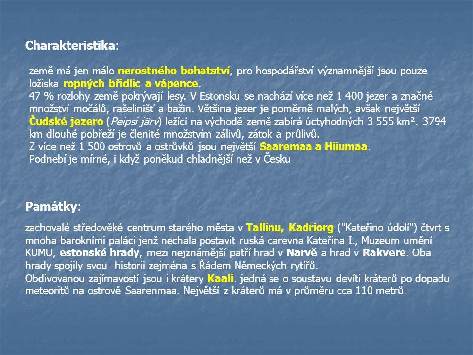 Litevská republika Hlavní město:Vilnius Rozloha:65 200 Nejvyšší bod:Aukštojas (293,84 m n.