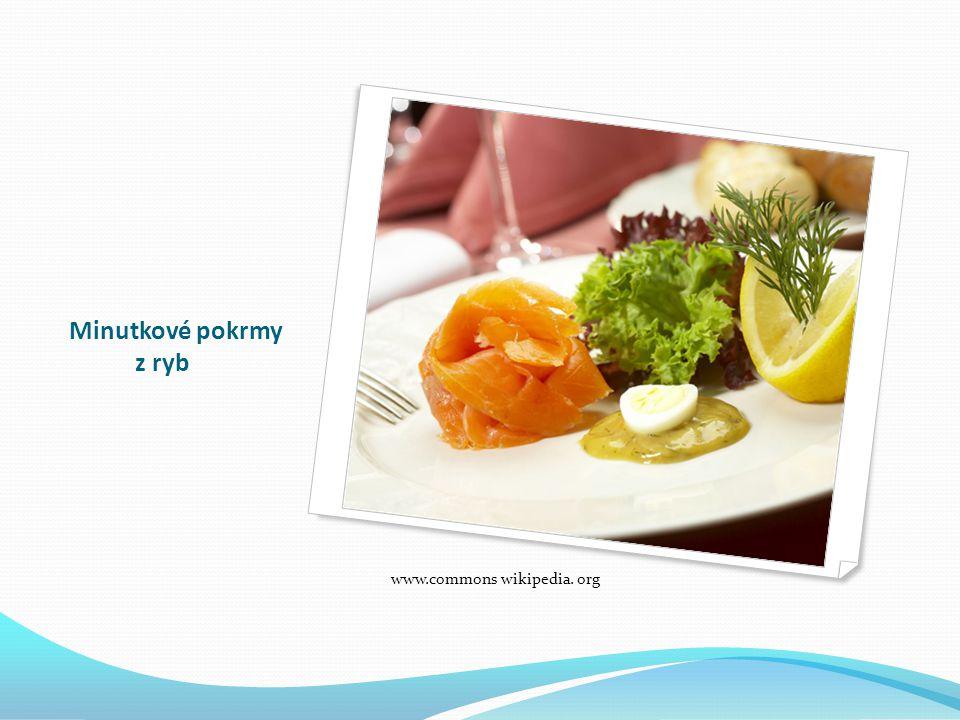 Minutkové pokrmy z ryb www.commons wikipedia. org