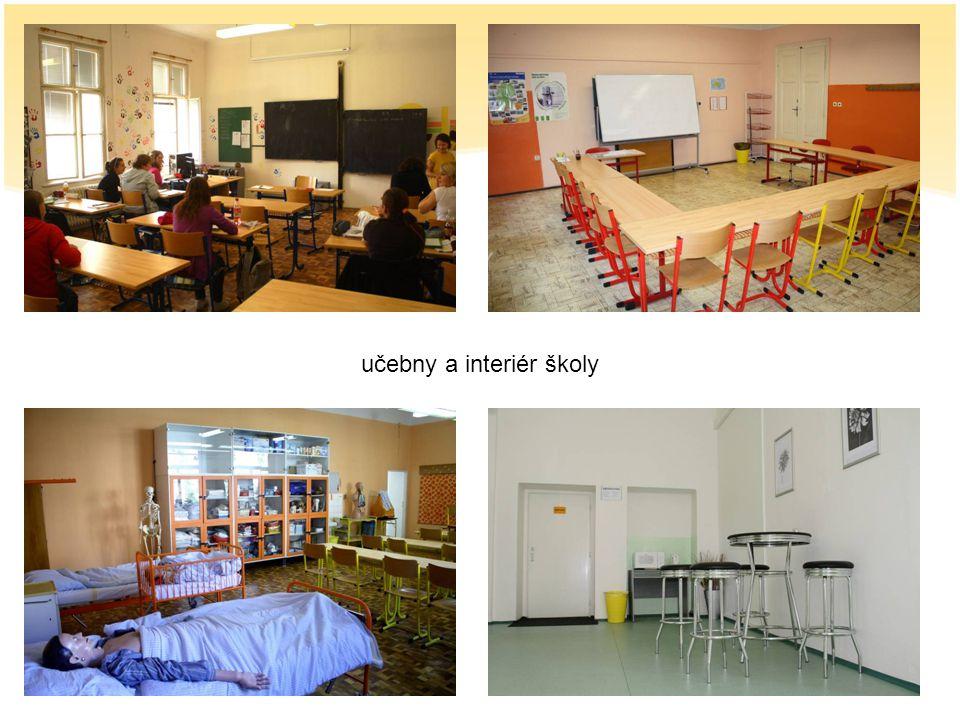 učebny a interiér školy
