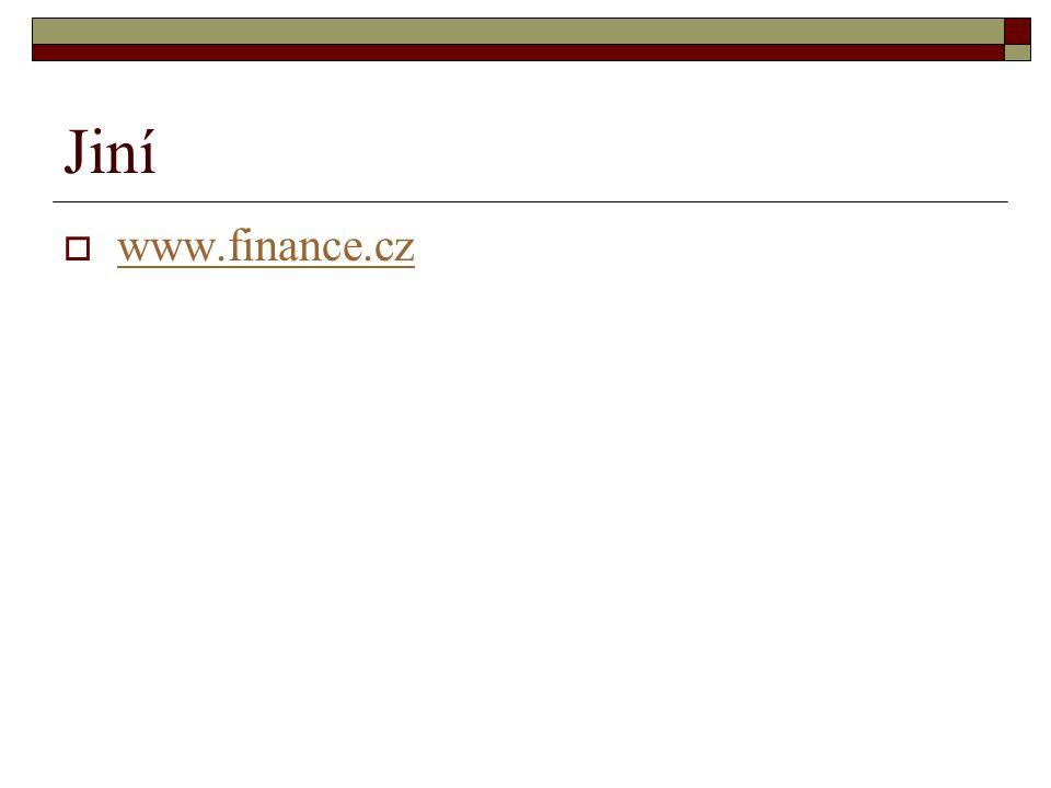 Jiní  www.finance.cz www.finance.cz