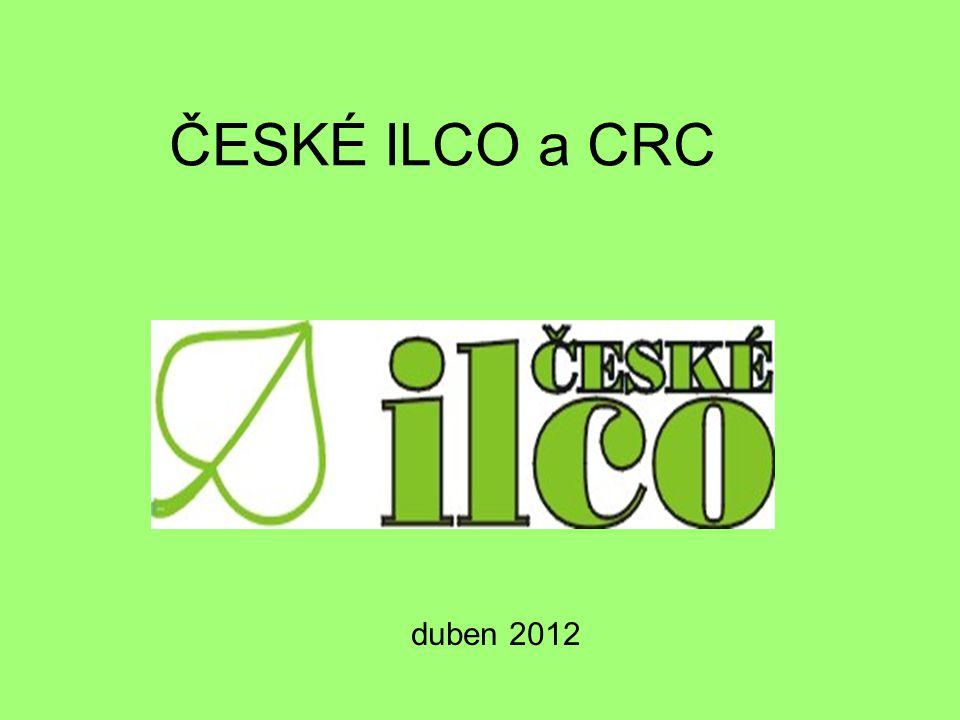 ČESKÉ ILCO a CRC duben 2012