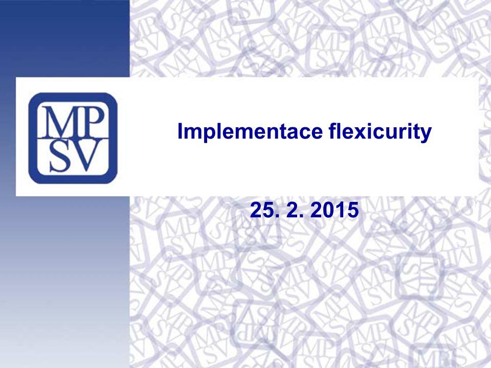 Implementace flexicurity 25. 2. 2015