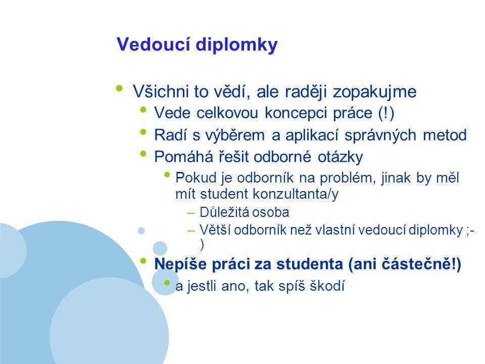 Company LOGO Takže jo – už dosť bolo teórie souhrny, jak rád bych je uměl rychle http://www.ikaros.cz/node/1486