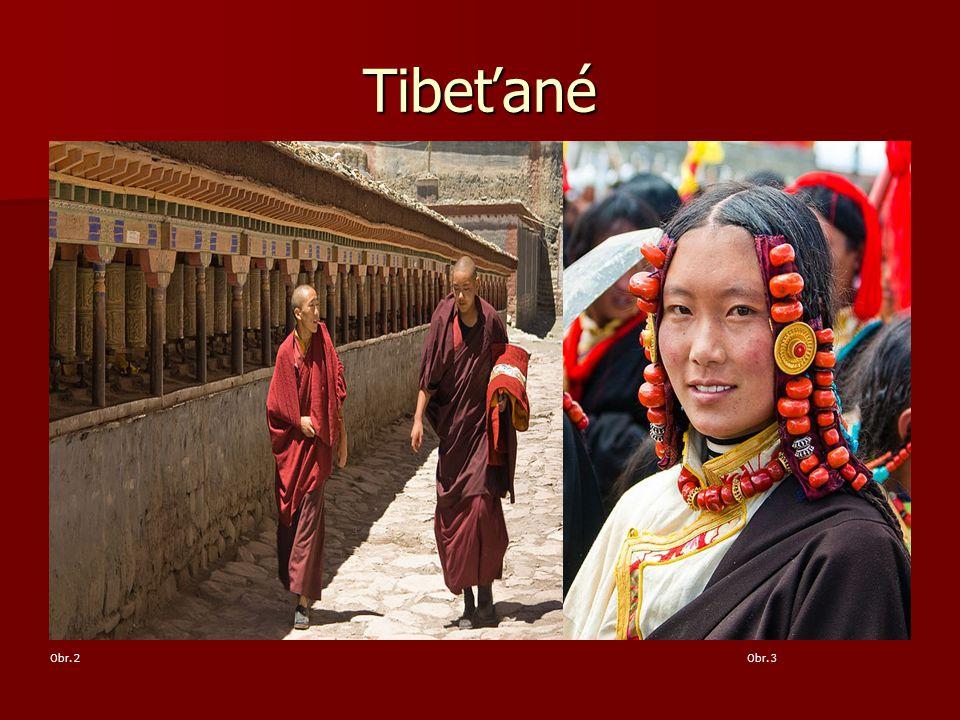 Tibeťané Obr. 2Obr. 3