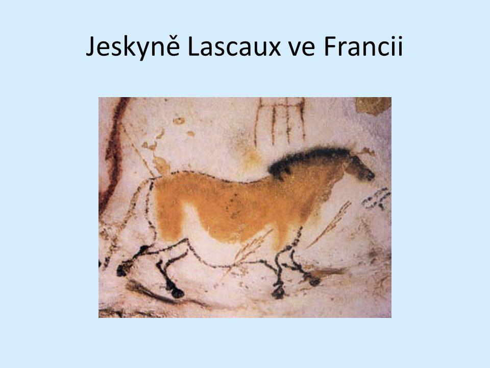 Jeskyně Lascaux ve Francii