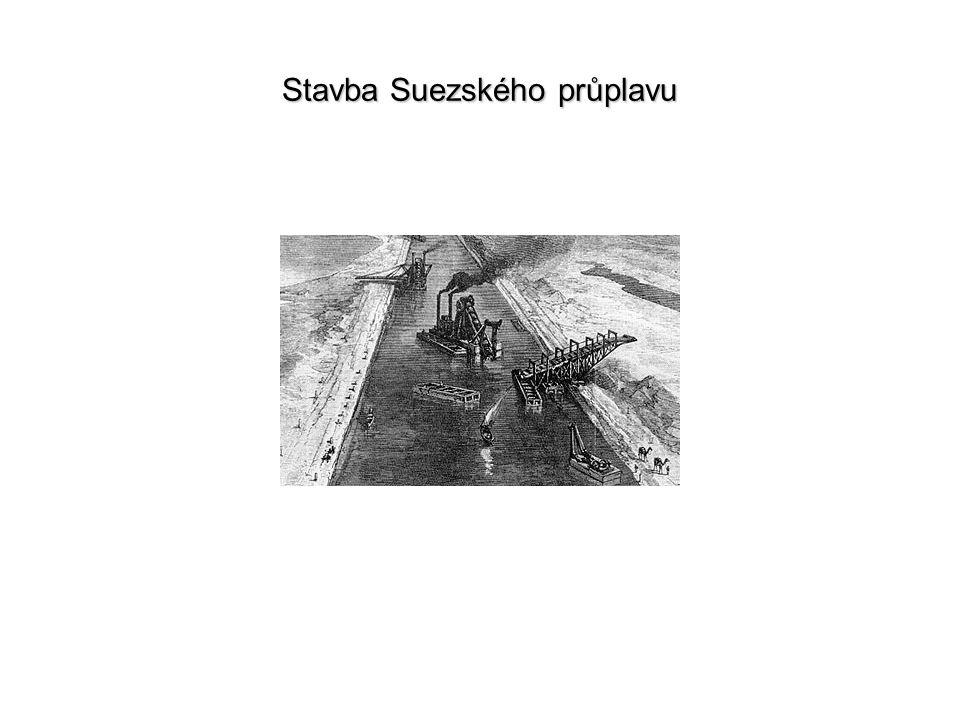 Stavba Suezského průplavu