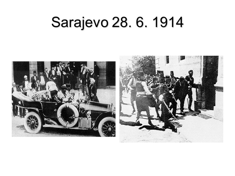 Sarajevo 28. 6. 1914