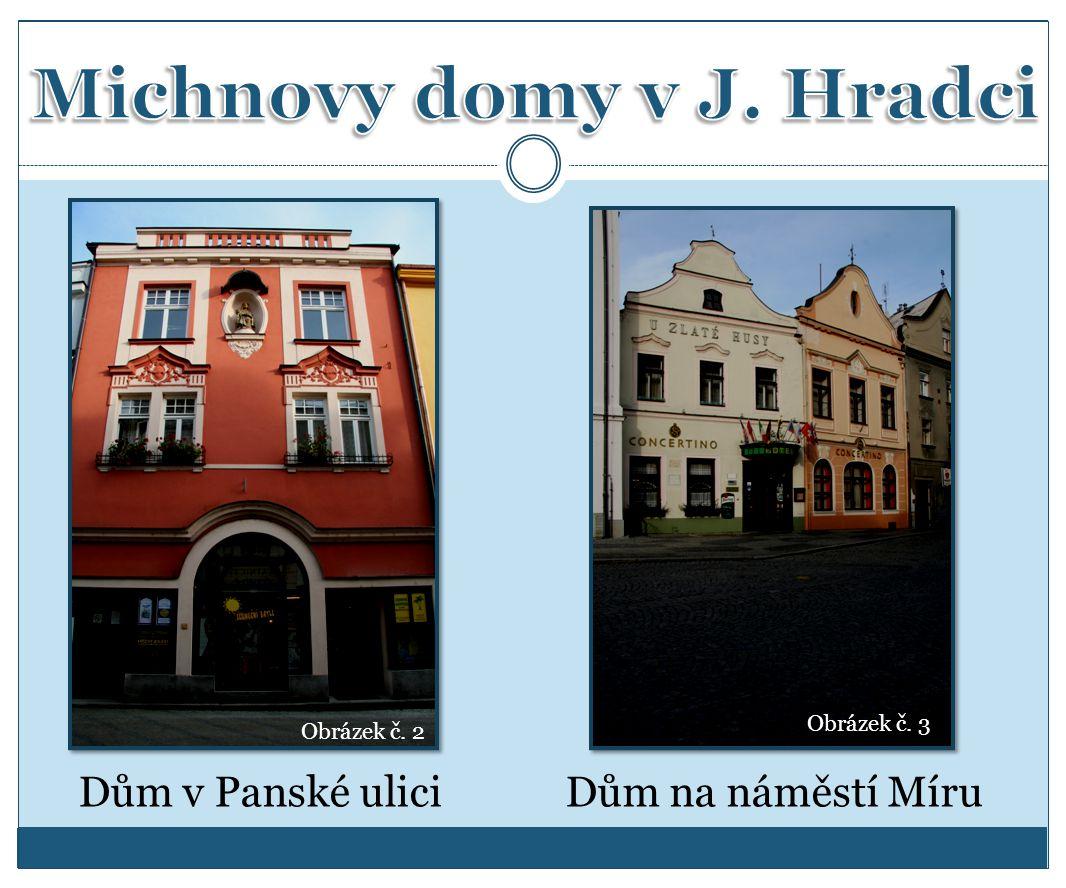 Dům v Panské uliciDům na náměstí Míru Obrázek č. 2 Obrázek č. 3