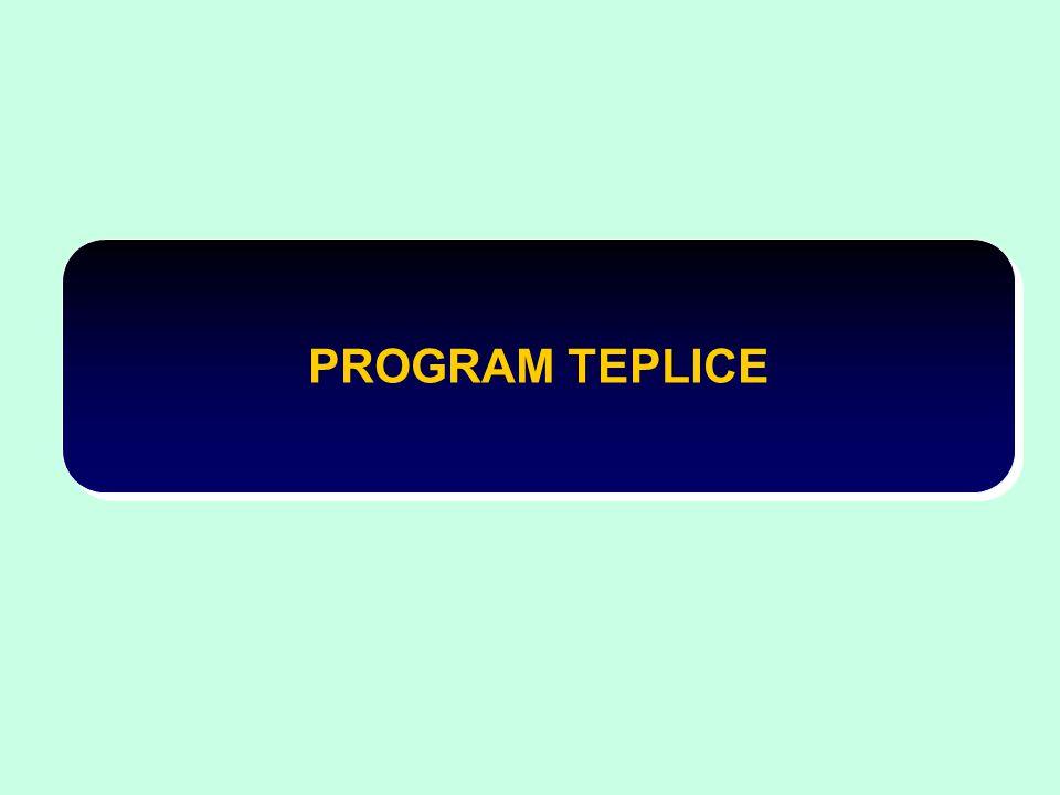 PROGRAM TEPLICE
