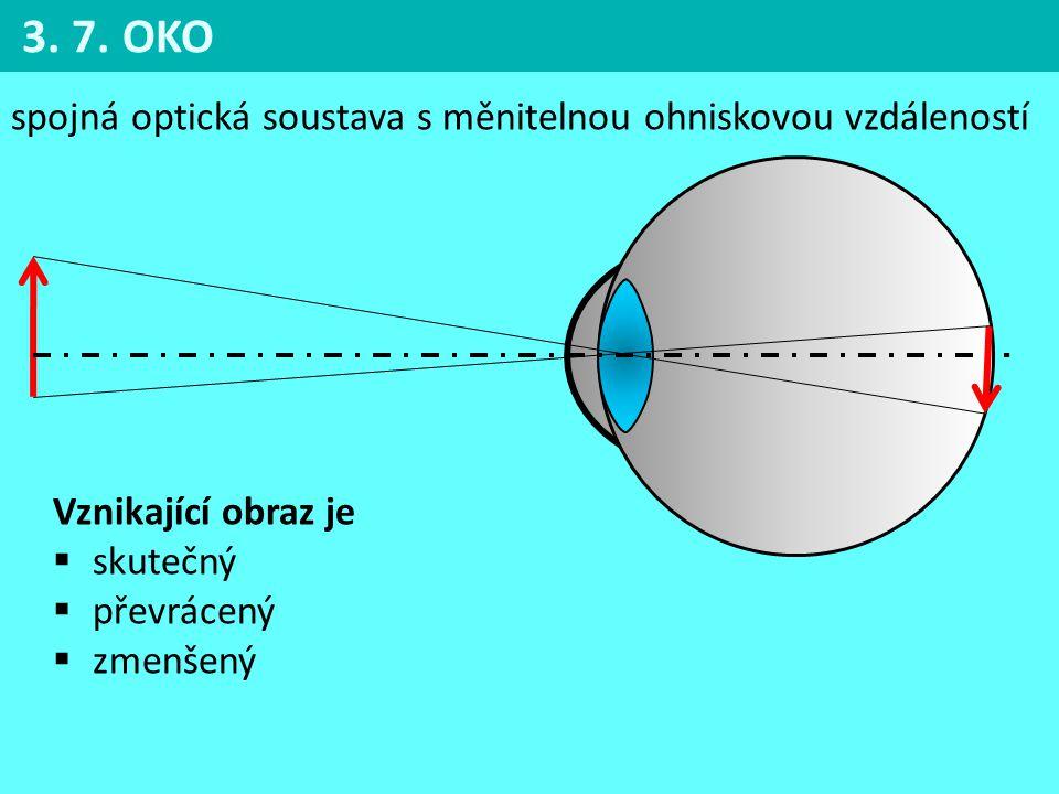 spojná optická soustava s měnitelnou ohniskovou vzdáleností Vznikající obraz je  skutečný  převrácený  zmenšený 3.