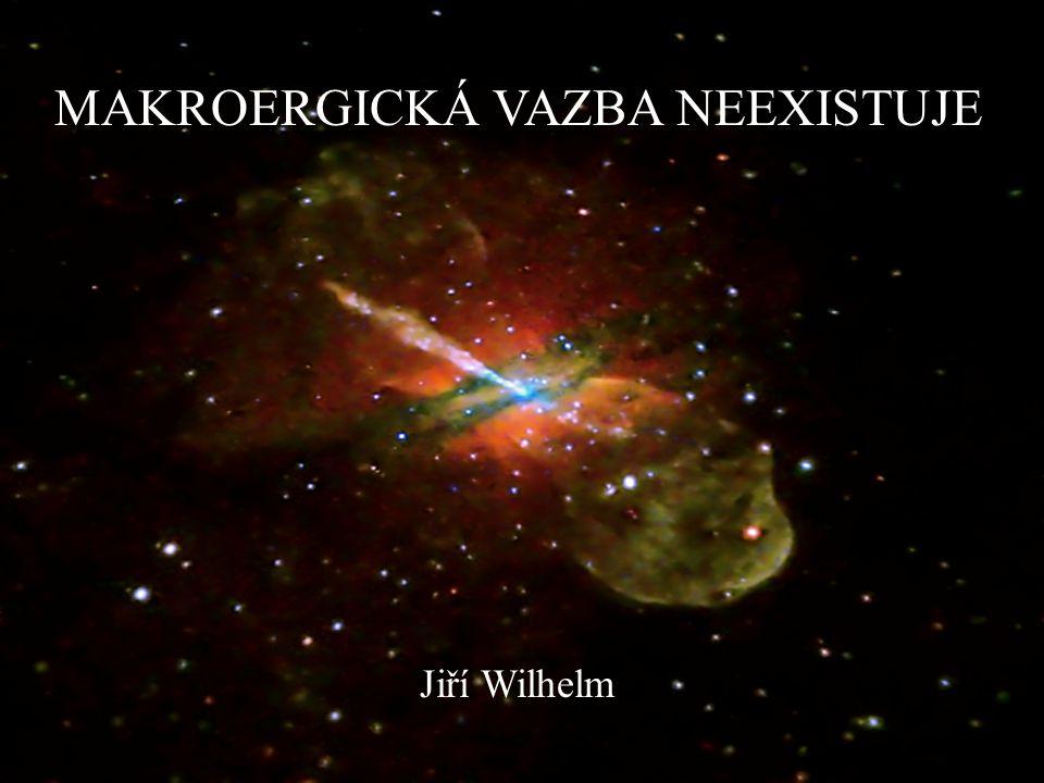 MAKROERGICKÁ VAZBA NEEXISTUJE Jiří Wilhelm